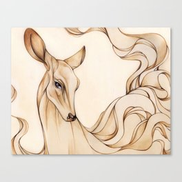 Dreamy Doe Canvas Print