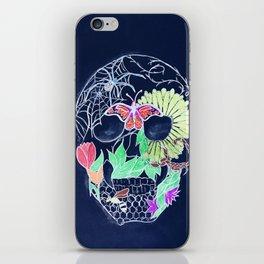 Chalk Art Skull iPhone Skin