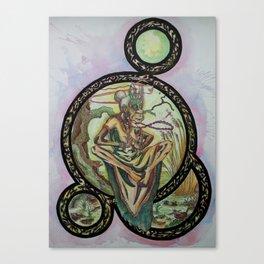 Swamp Shaman Lady Canvas Print