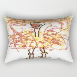 Sally Rand Rectangular Pillow