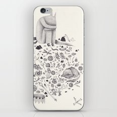 where the wild things are iPhone & iPod Skin