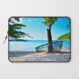 Beautiful Palms Beach Laptop Sleeve