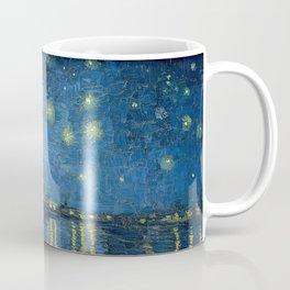 Starry night over the Rhône Coffee Mug