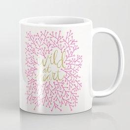 Wild at Heart – Pink & Gold Coffee Mug