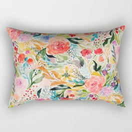 Flower Joy Rectangular Pillow