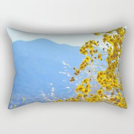 Mountain Blossoms Rectangular Pillow