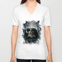 vader V-neck T-shirts featuring Vader by Sirenphotos