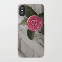Pink Porch Flower iPhone Case