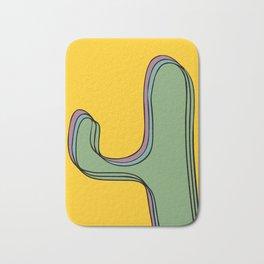 The color cactus Bath Mat
