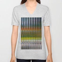 Optic Multicolor Unisex V-Neck