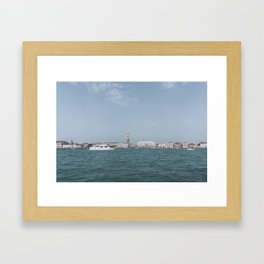 Venice in Soft Tones // Travel and Lifestyle Collection Framed Art Print