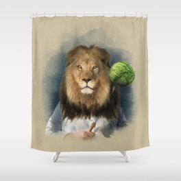 The lion's share Shower Curtain