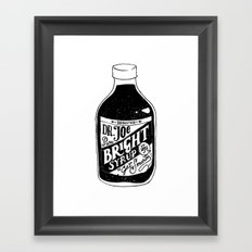 Don't Be Stupid Elixir Framed Art Print