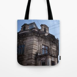 Old Town Architecture, Lviv, Ukraine Tote Bag