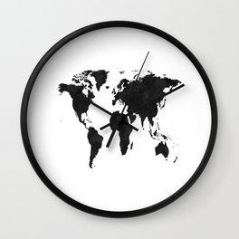 World Map Wall Art,World Map Canvas,World Map Print,World Map Poster,Printable Art,World Map Svg,Wat Wall Clock