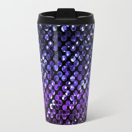 Crystal Bling Strass Purple G323 Travel Mug