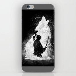 The Lone Samurai iPhone Skin