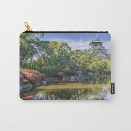 Osaka Castle Reflection Carry-All Pouch