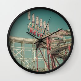 Luna Park Wall Clock