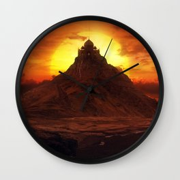Forgotten World: Taj Mahal Wall Clock