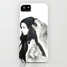 Winter Song iPhone Case