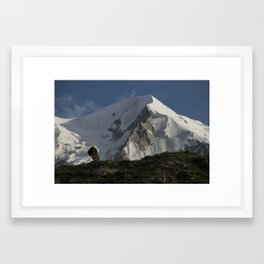 Karakorum Ridge Framed Art Print