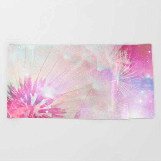 Wishes Wings Beach Towel