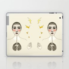 kara akciğer Laptop & iPad Skin