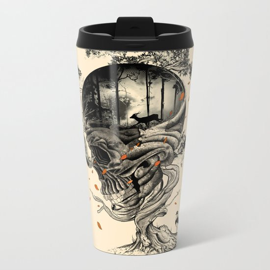 Lost Translation Metal Travel Mug