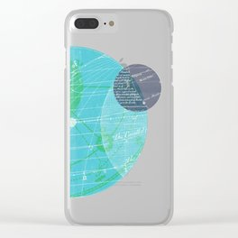 Earth I Clear iPhone Case