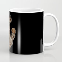 Viking At The Gym | Work Out Fitness Muscles Power Coffee Mug