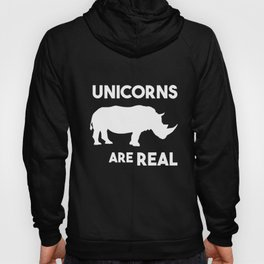 Unicorns are real Hoody