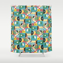 Citizen of the World Shower Curtain