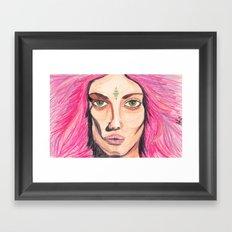 w!ldch!ld Framed Art Print