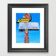 The Chieftain Framed Art Print