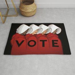 Handmaids Vote Rug