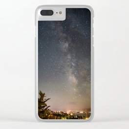 South Lake Tahoe Milky Way Clear iPhone Case