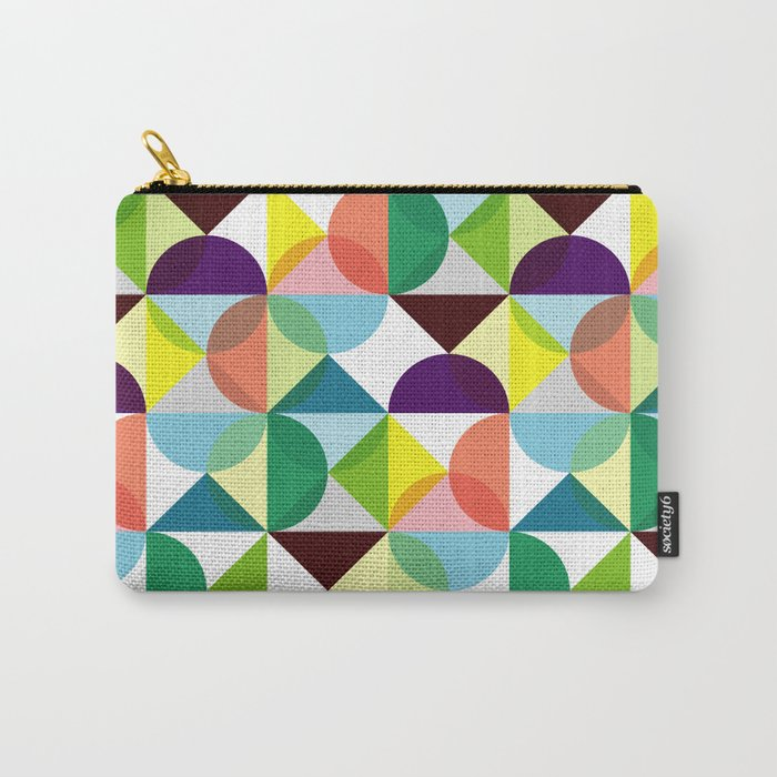 Geometric Pattern #3 Carry-All Pouch