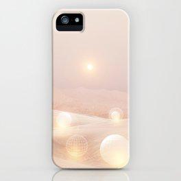 2077 landscape IV iPhone Case