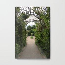Paris, France - Garden Metal Print