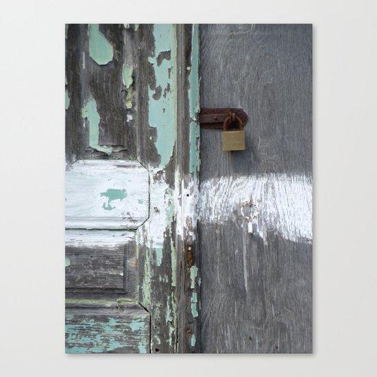 Hidden within Santorini, Greece Canvas Print