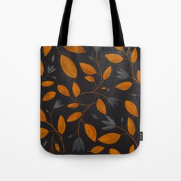 Burnt orange autumn leaves Tote Bag