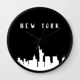 N E W Y O R K Wall Clock