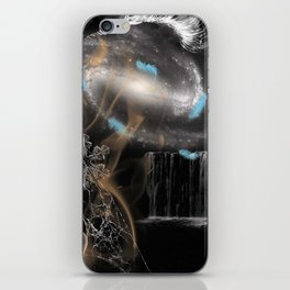 Black and White Surreal Dreamscape iPhone Skin