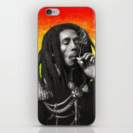marley bob general portrait painting | Up In Smoke Fan Art iPhone Skin