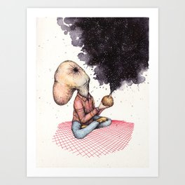 Bigg Bhang Art Print