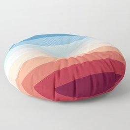 Flag Gradient Floor Pillow
