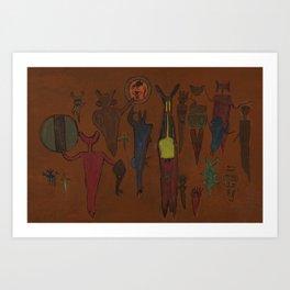 Ancestor Spirits Art Print