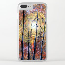 Essence Of Autumn Clear iPhone Case