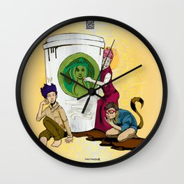 Caffiends: The Aficionado, the Cat, and the Spaz Wall Clock
